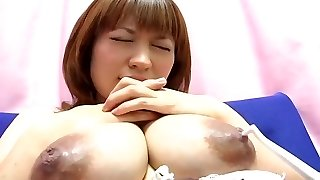 Yui Aihara - Toothbrush Nipple Have Fun Adorable Japanese Preggo