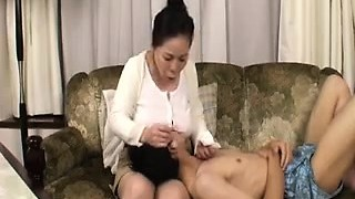 Amateur Wooly Asian with Big Nipples