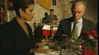 Elegant Italian Mature cuckold husband on restaurant