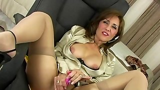 Satin Half-top MILF