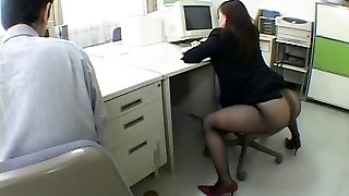 Japanese office nymph drives me insane by airliner1