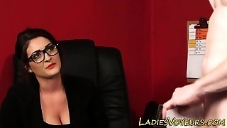 Cfnm mistress in office