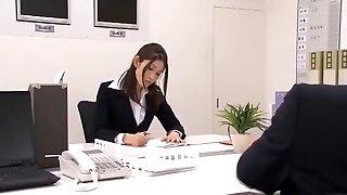 Amazing Japanese model Maomi Nagasawa, Yuria Sonoda, Meisa Asagiri in Hottest Office, Furry JAV pin
