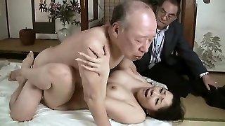 Hardcore grandpa fucks young babe