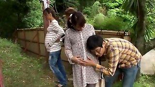 észbontó japán csavargó hinata komine, kyouko maki a legforróbb nyilvános jav bilincs