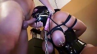 Incredible amateur Fetish, Latex adult video