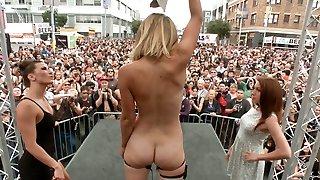 Folsom Street Performance The Ultimate Dehumanization Of Mona Wales - PublicDisgrace