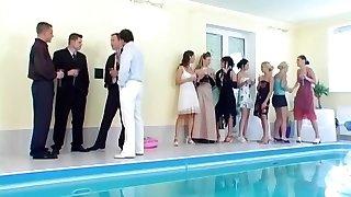 bazén fuck-a-thon večírek 7!