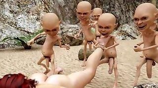 3D Hobitti ja tähtien sota-Pornoa!