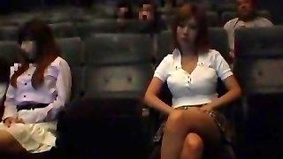 Exotic Japanese biotch in Impressive Public, Blowjob/Fera JAV video