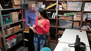Shoplyfter -Teenager Caught And Torn Up For Stealing