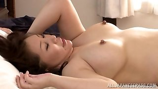Hot mature Asian stunner Wako Anto likes posture 69