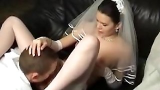 Teenage russian gets married fucked