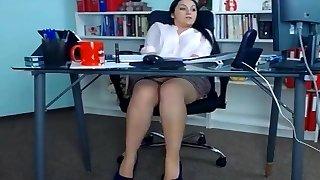secretary webcam