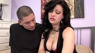 Exotic pornstar Angelica Raven in finest popshots, cunnilingus adult clip