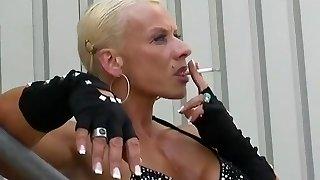 vaikuttava kotitekoinen, soolo, lady, lihaksikkaat naiset hardcore vid