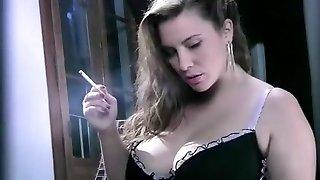 incroyable amateur de fumer, gros seins film porno