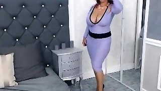 Fetish solo european glam superslut