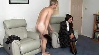 Fabulous fledgling European, Brunette sex clip