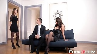Anna Polina, Nikita Bellucci In The Sheer Pleasure Provider Episod