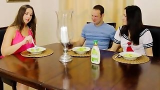 Brother-in-law Fucks Sister in Front of Cougar Mom