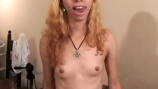 Ugly Teen Fat Cumshot for $$$