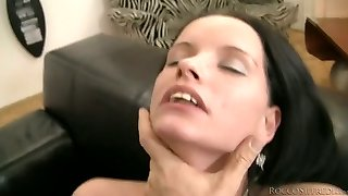 Booty brunette with ugly teeth gets fucked rear end fashion