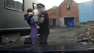 Fake Cop kinky girlfriend feels the energy