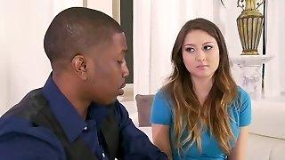 Sitter is seduced by a Black Duo. Y & B