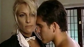 TT Guy unloads his wad on platinum-blonde milf Debbie Diamond