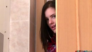 Anie Darling & Daisy Lee & Miky Enjoy in Damsel spies bathroom pussy eating - Girlfriends