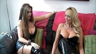 mistress and acquaintance use slave