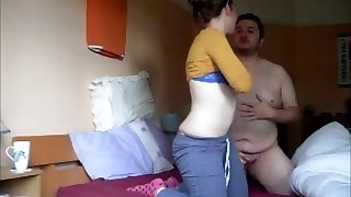 Banging my FAT cuck bf Part 1