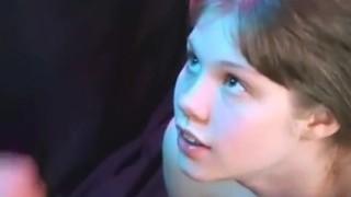 cute teen facial