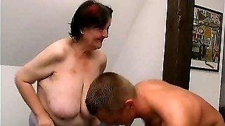 young guy fucks 70 yo ugly fat grandma oma