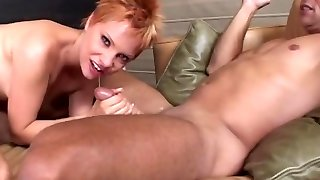 Red-Head Bj's A Big-Weenie Before Fucking It - Acid Rain