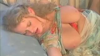 Big Tits MILF stepmom let her sonnie to pound her