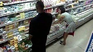 Grocery Supermarket Gangbang Orgy