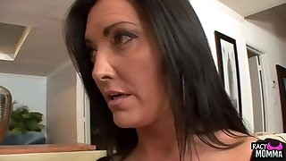 Bigtitted stepmom pussylicking taboo nubile