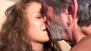 18 curly sweetie teen and 76 old granppa insatiable 69