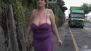 Solo #2 (Mature Plumper with Big Boobs)