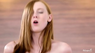 Relaxxxed - Erotic gym fuck with sensual Czech redhead