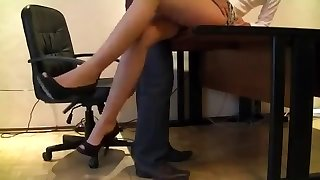 Sexy Sizzling Secretary Candid Camera