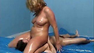 Venus Milan - Nasty Lube Wrestling