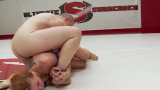 Hot Lesbian Athletes Fight To Fuck