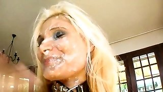 tuhk-blond mass ejakulatsioon rusude