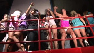 real chicks getting real insatiable in the spring break club chaos south padre