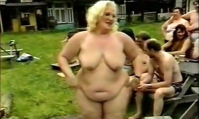 Horny Homemade video with Gang Orgy, Grannies scenes