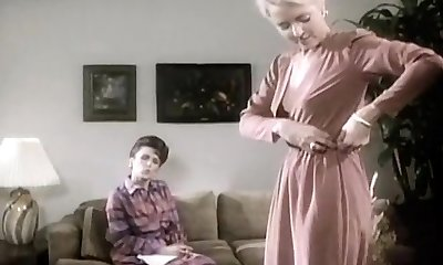 Hawt 80's porn episode with dual penetration