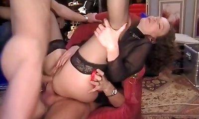 Hottest amateur DP, Compilation fuck-a-thon clip
